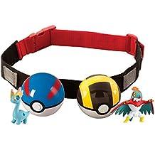 Pokémon T18206B- Clip 'n' llevar Poke bola cruz cinturón (surtido, modelos aleatorios)