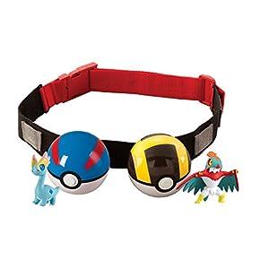 Pokemon T18206 – Pokeball Gürtel (Farblich Sortiert)