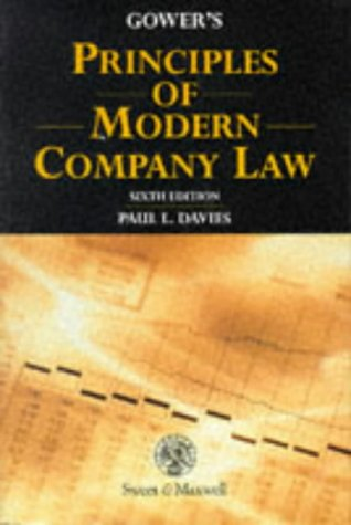 Gower's Principles of Modern Company Law