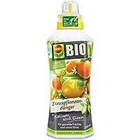 COMPO BIO Zitruspflanzendünger für alle Zitruspflanzen-Arten, Natürlicher Spezial-Flüssigdünger, 500 ml