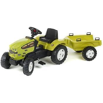 Falk - 1062B - Vélo et Véhicule pour Enfant - Tracteur - Farm Master + Remorque - 680I