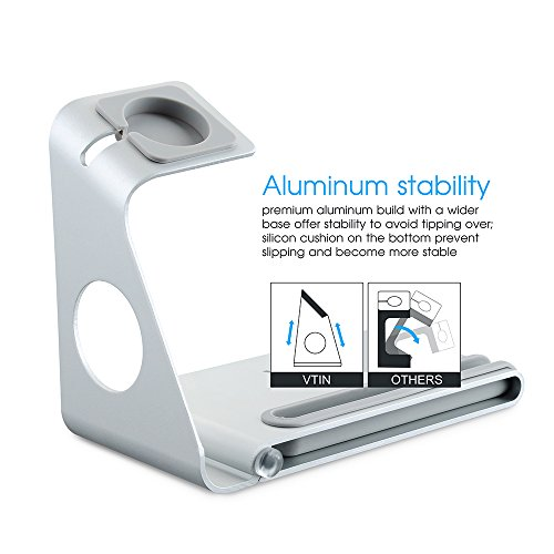 soporte para iwatch VTin DuoStand Charge Station