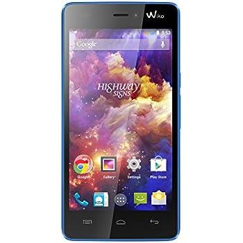 Wiko Highway Signs Smartphone débloqué H+ (Ecran: 4,7 pouces - 8 Go - Double SIM - Android 4.4 KitKat) Bleu
