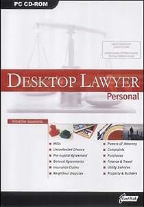 Desktop Lawyer Personal (inc Wills, Divorce, Property)