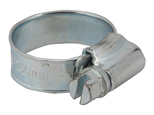 Fixman 625821 Lot de 10 Colliers de serrage, Gris