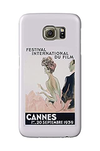 France - Cannes - Festival International du Film - 1939 - (artist: Domergue c. 1939) - Vintage Advertisement (Galaxy S6 Cell Phone Case, Slim Barely There)