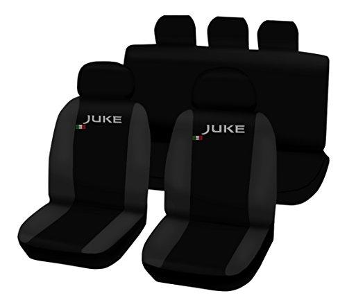 Lupex Shop Juke_N.Gs Coprisedili Bicolore, Nero/Grigio Scuro