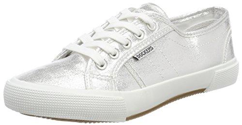 Dockers by Gerli Damen 36PE201-700550 Sneaker, Braun (Silber 550), 37 EU