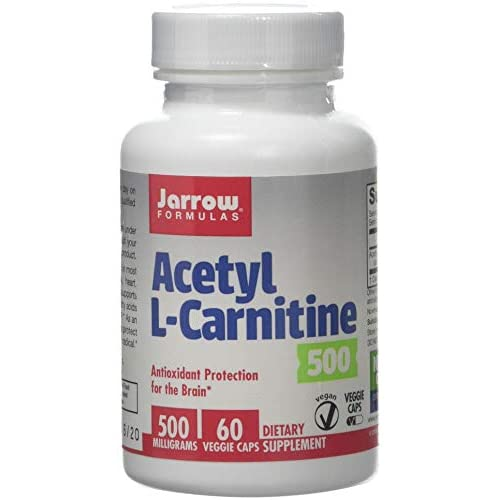 4106VP0CEyL. SS500  - Jarrow Formulas Acetyl Lcarnitine Antioxidant Protection The Brain Earplug , 14 cm, Black HS-0503
