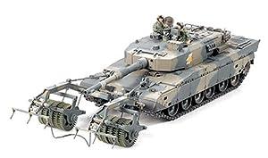 Tamiya 35236 - Maqueta Para Montar, Tanque Japones Tipo 90 JSDF Con Rodillo Antiminas Escala 1/35