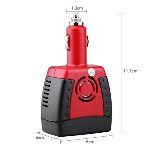Auto Power Inverter 220 V USB 2.1A 150 watt DC 12 V AC 50 ± 2 HZ Leichte Konverter Adapter mit Zigarettenanzünder Auto Ladegerät für Notebook Handy Laptop Ac Power Inverter Ladegerät