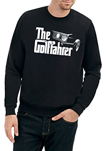 Certified Freak The Golffahrer Sweater Black L