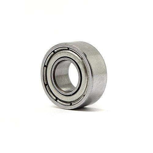 DIY Mechanicals 604ZZ Roulement à Billes à rainure Profonde en métal blindé 4 x 12 x 4 mm 2