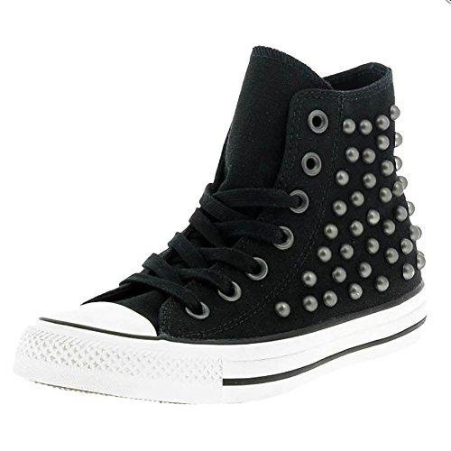 21 Shoes Converse all Star Nera Bassa Borchiate (Artigianali