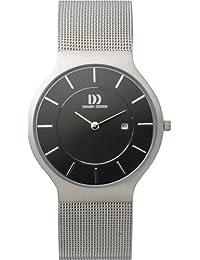 Danish Design Herren-Armbanduhr Analog edelstahl Silber DZ120030