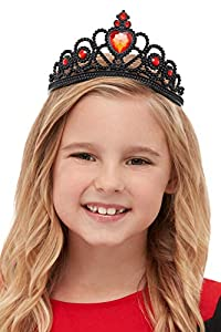 Smiffys 52089 - Tiara de bruja para niña, color negro