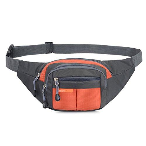 qiman Hüfttasche Tasche von Gürtel Militärische Taktik, Beanbag-Multifunktions Tasche Herren Damen für Klettern Rennen Wandern Jagd Radsport Sport Camping ()