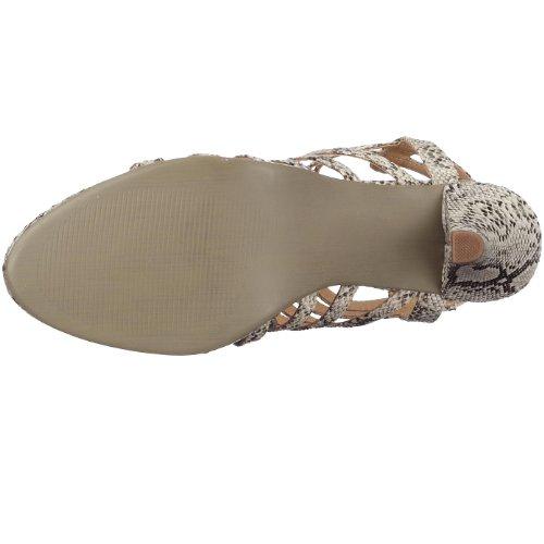 Sandaletten von Andrea Conti - Sommerlich in Beige Beige (Beige 003) (Beige003)