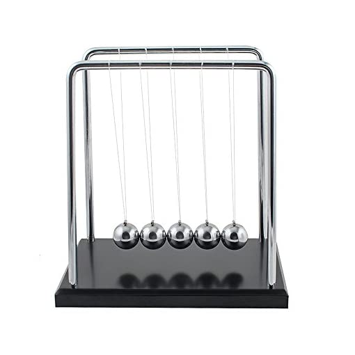 Newtons-Cradle-Balance-Ball-Newton-Pendulum-with-Metal-Swing-ball-and-Wooden-base-Perfect-Home-Office-Decor
