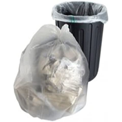 20Grandes fuerte transparente plástico Polietileno basura bolsas sacos tamaño 18x 29x 39
