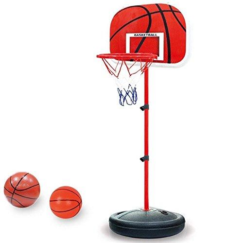 Hensych® Basketballkorb mit Standfuß, für Kinder, verstellbar, Spielzeug