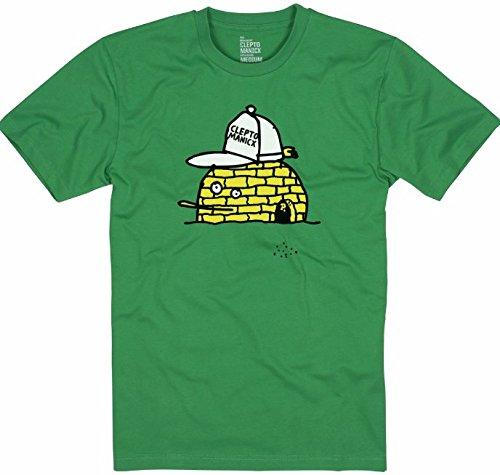 CLEPTOMANICX T-Shirt Iglu Zitrone jolly green men NEU,, gebraucht gebraucht kaufen  Wird an jeden Ort in Deutschland