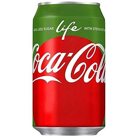 72 x Coca Cola Life cans dosen canettes latas lattine 0 33 L