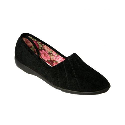 GBS Audrey Ladies Womens Classic pantoufle Océan