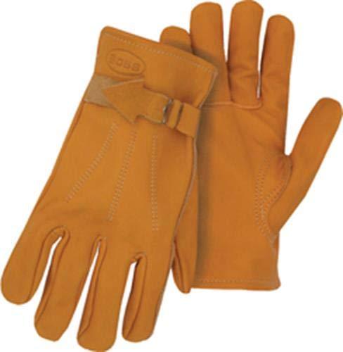 BOSS 6023J Jumbo Premium genarbtem Leder Handschuhe Premium-grain-leder