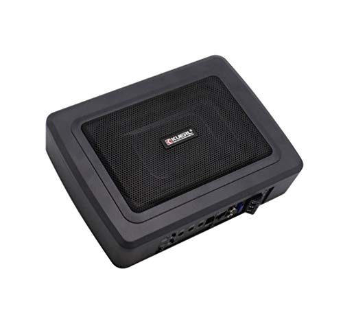 6 * 9 Zoll 600W Car Ultra-Thin Aluminum Subwoofer High-Power 12V Active Audio Installation unter dem Co-Pilot Seat 600w Car-audio