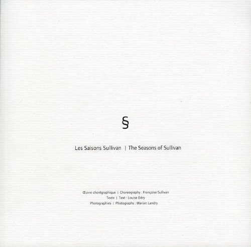 Les saisons sullivan/The Seasons of Sullivan