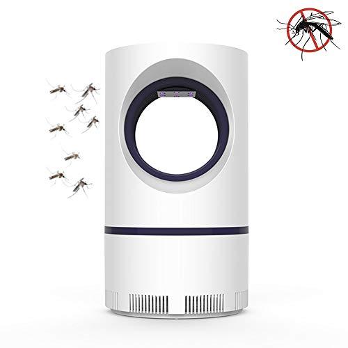 ZPeng Trampa para Insectos, Asesino eléctrico Mosquitos, Trampa Control plagas USB, UV para Insectos, Asesino Mosquitos, Trampa, Trampa para Mosquitos, Adecuada para Interiores y Exteriores