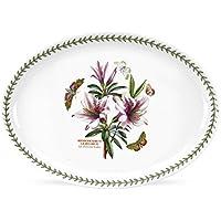 Botanic Garden, Piatto da portata ovale, in porcellana, 38 cm, Multicolore (mehrfarbig)