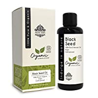 Black Seed Oil or Nigella Sativa (Certified Organic) - Aroma Tierra - Superfood, Miracle oil, Offers numerous Health & Beauty benefits - 100ml