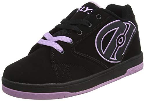 Heelys, Zapatillas para Niños, Negro (Black/Lilac), 36.5 EU