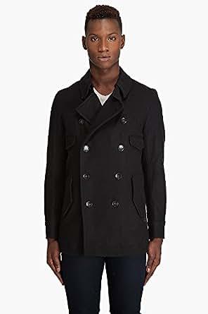 G-Star Raw Mens Correct Line CL P-Coat Wool Pea Coat