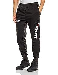 Legea  - Pantalones cortos deportivos para hombre, color negro, talla L