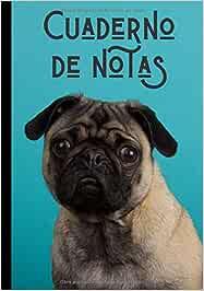 Cuaderno de notas: Bonito diario de escritura - adorable perrito - regalo ideal para los amantes de los dogos - 100 páginas en formato de 7*10 pulgadas