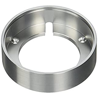 Alico Industries WLC140-N-98 Maggie Collection Surface Mount Collar, Stainless Steel Finish by Alico Industries