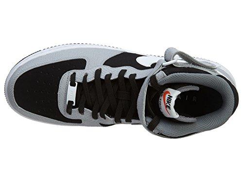 Nike Air Force 1 (Gs) 314195 Scarpe Sportive da Bambini E Ragazzi Nero
