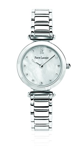Pierre Lannier - 043J691 - Elegance Style - Montre Femme - Quartz Analogique - Cadran Nacre - Bracelet Acier Argent
