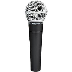 Shure SM58-LCE Microfono Professionale Dinamico e Cardioide