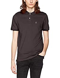 SELECTED HOMME Herren Poloshirt Shharo Ss Embroidery Polo Noos