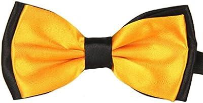 Vovotrade Hombres Satin Bow Tie corbata esmoquin de boda pajarita ajustable