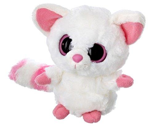 YooHoo & Friends - Peluche Fennec, 18 cm, Color Blanco y Rosa...