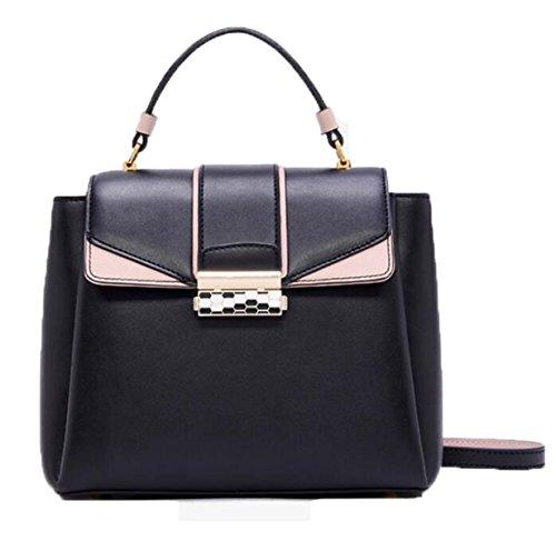 Mode Handtaschen Für Frauen Europa Und Die Vereinigten Staaten Schulter Schräg über Die Weibliche Paket Black