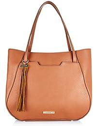 Caprese Tyra Women's Tote Bag (Saddle)