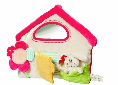 Nici-My-first-Nici-33511-Tilly-Casa-de-actividades-de-peluche-con-mueco-de-conejo-29-x-24-cm