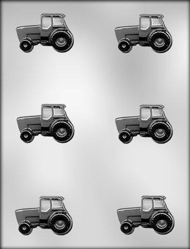 CK Products Schokoladenform mit Traktor-Motiv, 5,1 cm (Dreieck-kuchen-deckel)