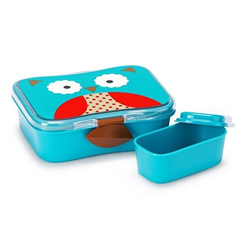 Skip Hop Zoo Lunch-/Frühstücksdose, mit Deckel, Aufbewahrung, für Kinder, mehrfarbig, Eule Otis
